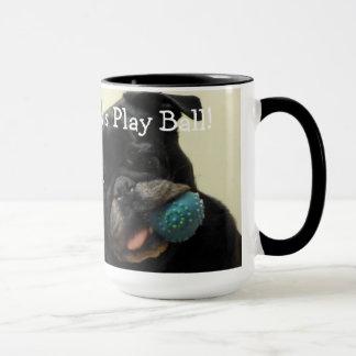 """Lucy """"Let's Play Ball!"""" Mug"""