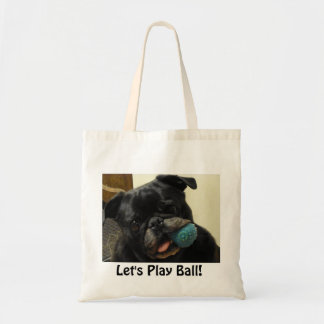 """Lucy """"Let's Play Ball"""" Tote Bag"""