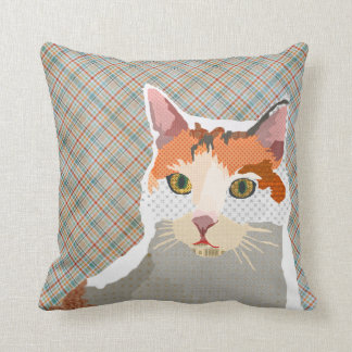Lucy Plaid Mojo Pillow Cushion