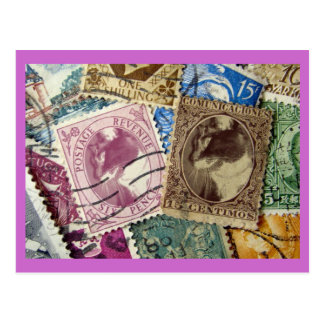 Lucy Stamps Postcard