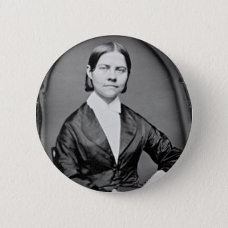 Lucy Stone American Abolitionist and Suffragist 6 Cm Round Badge