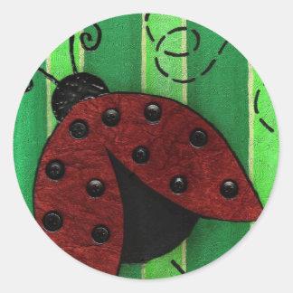 Lucy the Ladybug - bug stickers