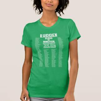 Ludden Class of Nineteen 86: Women's Throwback Tee