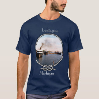 Ludington Car/Rail Ferries dark shirt