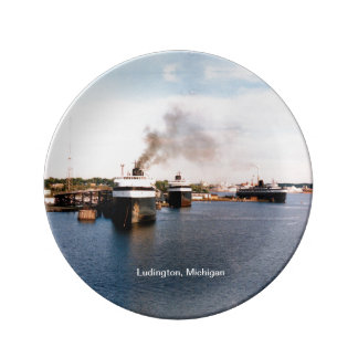Ludington Car/Rail Ferries decorative plate