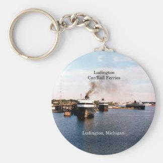 Ludington Car/Rail Ferries key chain