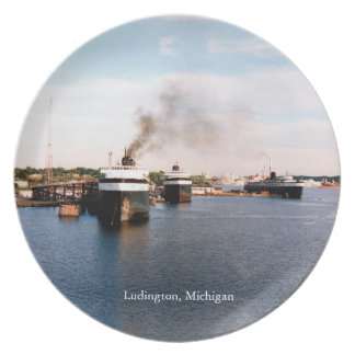 Ludington Car/Rail Ferries plate