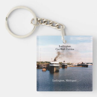 Ludington Carferries key chain