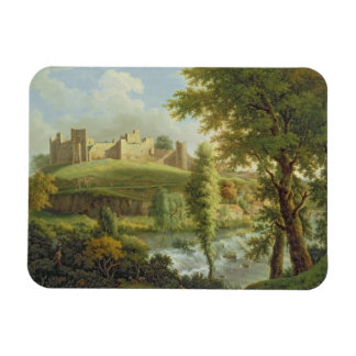 Ludlow Castle with Dinham Weir, from the South-Wes Magnet