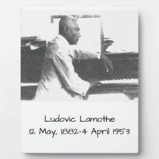 Ludovic Lamothe Plaque