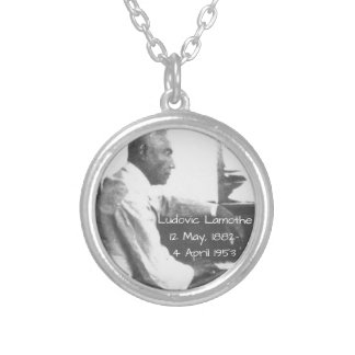 Ludovic Lamothe Silver Plated Necklace