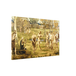 Ludus Pro Patria Stretched Canvas Print
