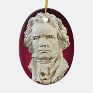 Ludwig van Beethoven Christmas Ornament