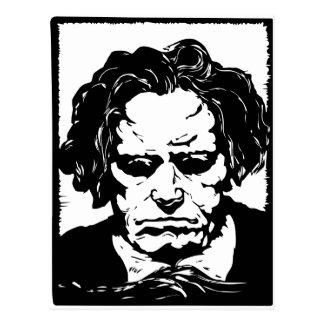 Ludwig van Beethoven - famous German composer Postcard