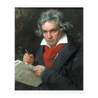 Ludwig van Beethoven Portrait Flyer