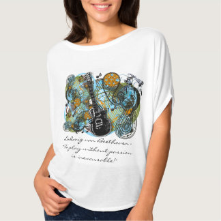 """Ludwig van Beethoven - """"To play without passion is T-Shirt"""