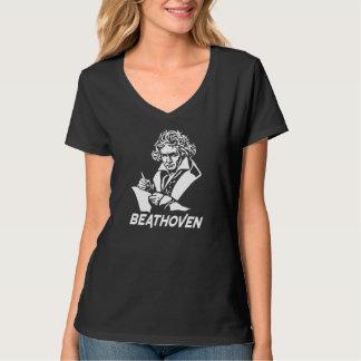 Ludwig van Beethoven with text Beathoven T-Shirt