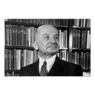 Ludwig von Mises Poster (16.5 x 11 in.)
