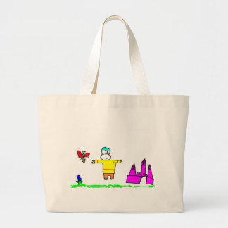 Lue and Iogo Large Tote Bag