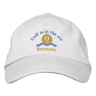 Luffers Sunset_Luff is in the air Bermuda Baseball Cap