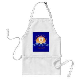Luffers Sunset_Luff is in the air Cape Cod Standard Apron