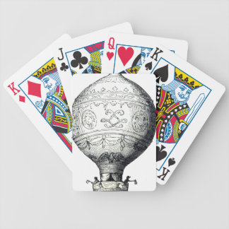 Luftschiff_Montgolfier Bicycle Playing Cards