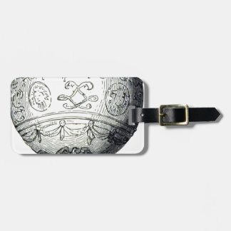 Luftschiff_Montgolfier Luggage Tag