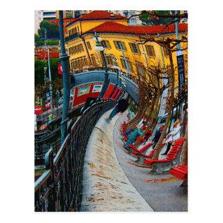 Lugano Switzerland Gifts and Apparel Postcard