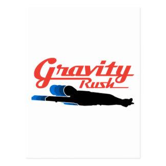 Luge Gravity Rush Postcard