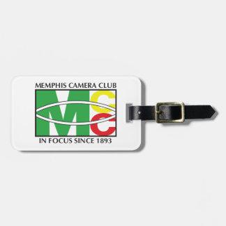 Luggage Classic Logo Tag w/ leather strap