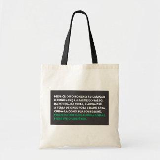 Luggage of Purchases Retornável EcoStorge Canvas Bag