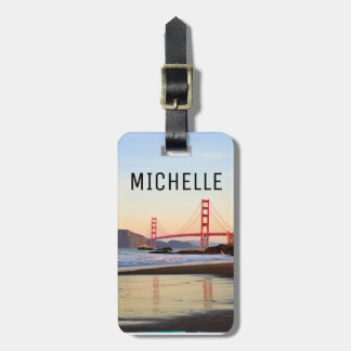 Luggage Strap with Bridge Design Luggage Tag