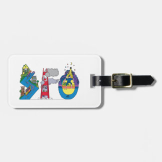 Luggage Tag | SAN FRANCISCO, CA (SFO)