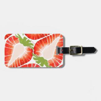 Luggage Tag - Strawberry Secret