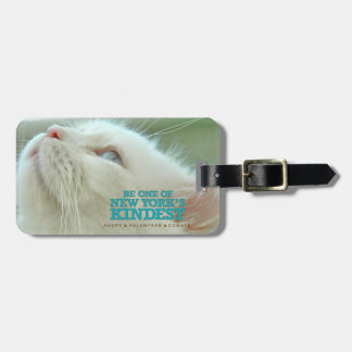 "Luggage Tag ""Walter the cat"""