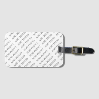 Luggage Tag with Business Card Slot Add Your Own