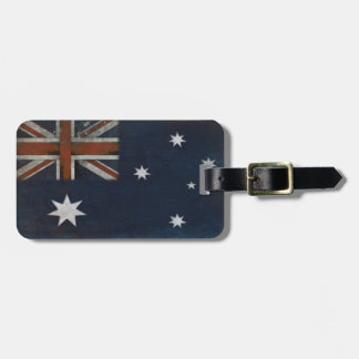 Luggage Tag with Flag from Australia