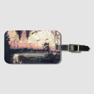 Luggage Tag - World In My Eyes by micgurro