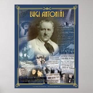 Luigi Antonini Poster