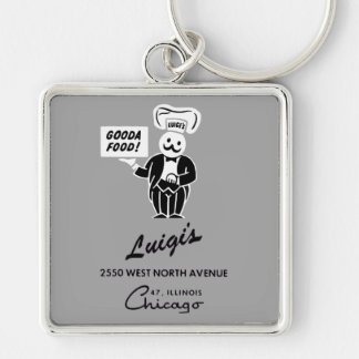 Luigi's Restaurant, Chicago, IL Key Ring