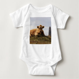 Luing cow on the Isle of Islay, Scotland Baby Bodysuit