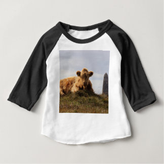 Luing cow on the Isle of Islay, Scotland Baby T-Shirt