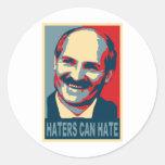 Lukashenko Round Sticker