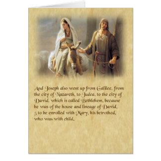 Luke 2 Christmas Cards. Card