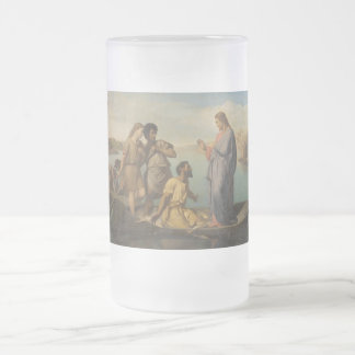 Luke 5 Personalize Religion Christianity Scripture Glass Beer Mugs