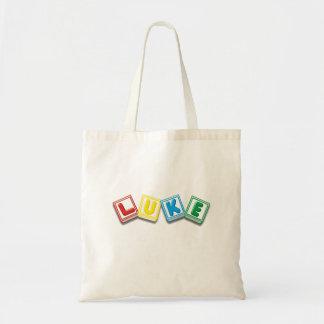 Luke Tote Bags