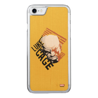 Luke Cage Badge Carved iPhone 8/7 Case