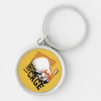 Luke Cage Badge Key Ring
