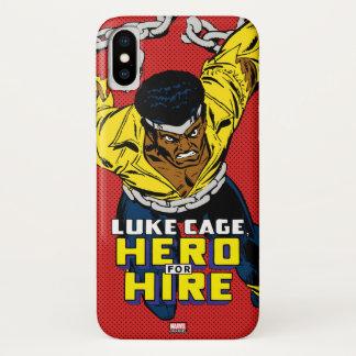 Luke Cage Breaking Free iPhone X Case