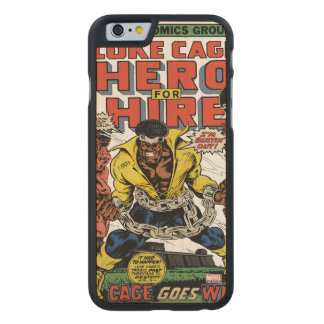 Luke Cage Comic #15 Carved Maple iPhone 6 Case